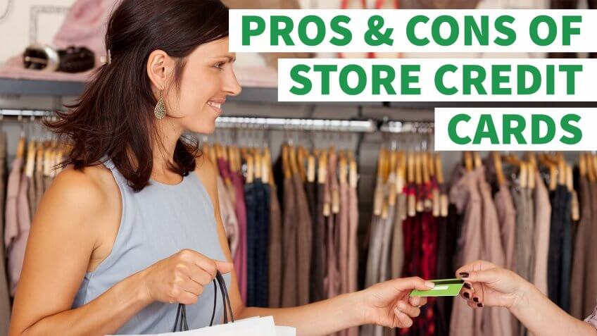 6 Pros and Cons of Store Credit Cards