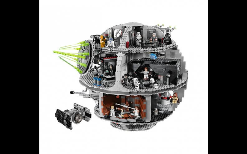 LEGO Death Star.