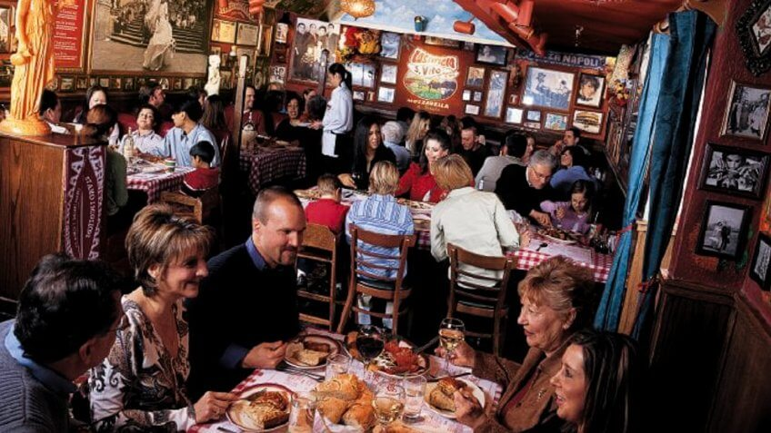 Buca Di Beppo restaurant