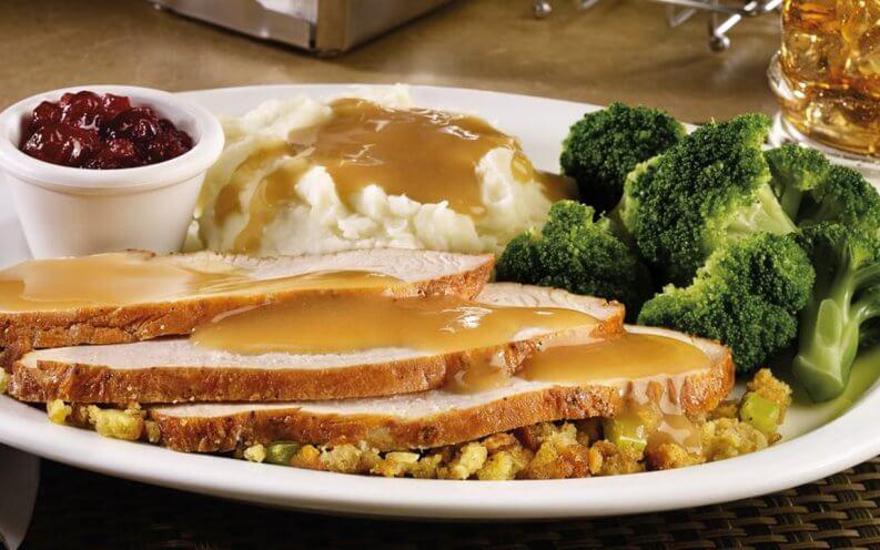 Dennys turkey with gravy