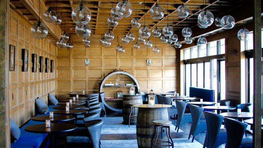 Sixty5 on Main restaurant interior