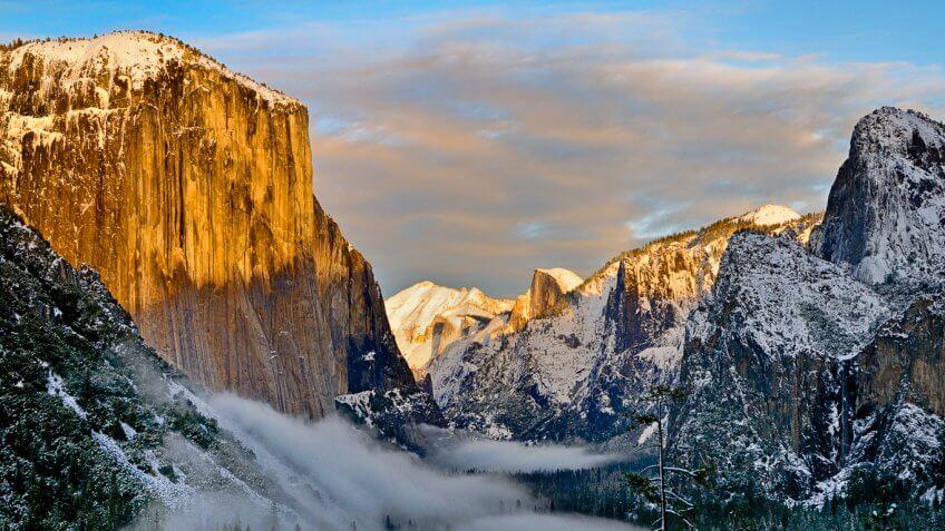 Yosemite National Park Calif