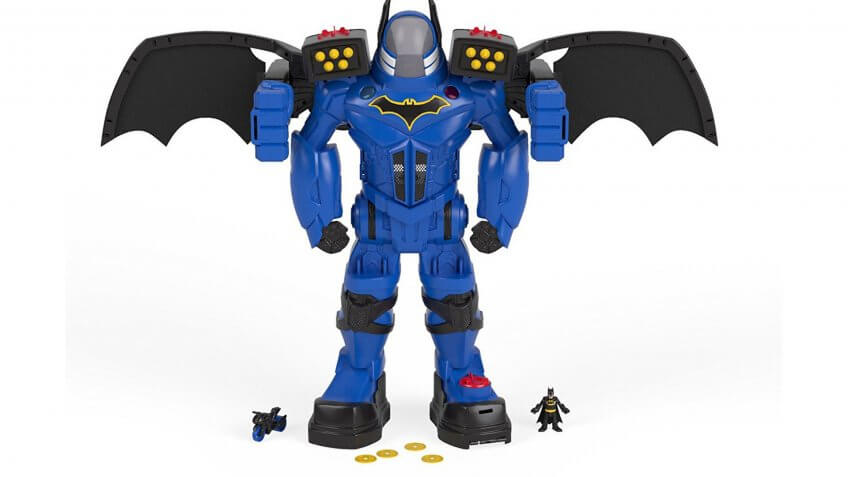 Imaginext DC Super Friends Batman Batbot Xtreme.