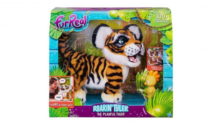 FurReal Friends Roarin' Tyler the Playful Tiger.