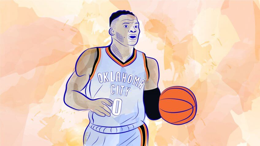 OKC's Russell Westbrook Reaches $50 Million Status