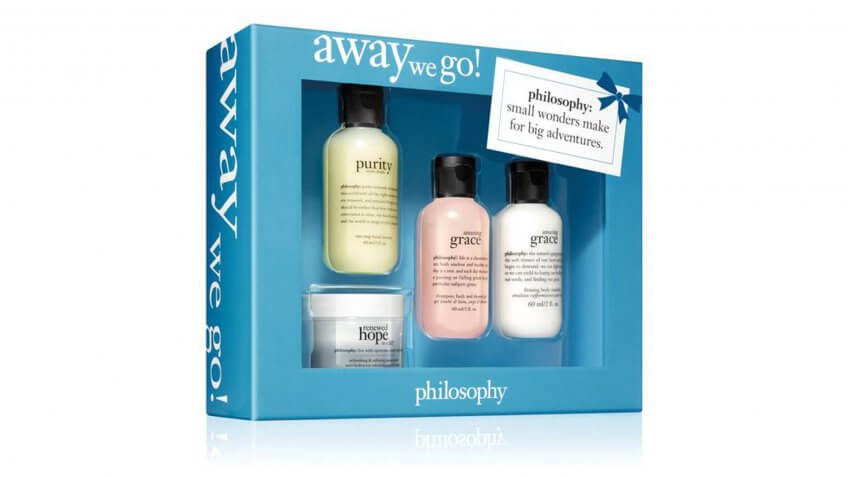 Away We Go 4pc 4piece Purity Made simple one step facial cleanse