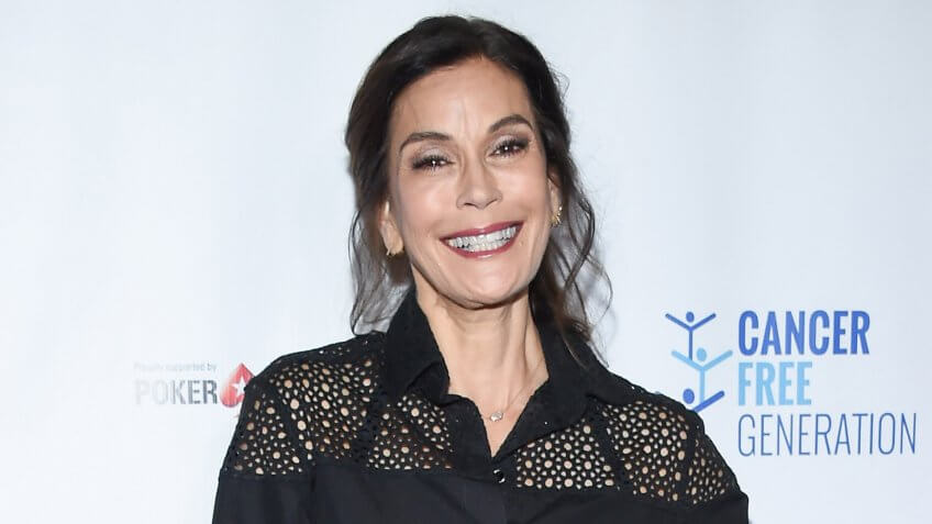 Teri Hatcher arrives for the Ante Up of Cancer on June 3, 2017 in Beverly Hills, CA.