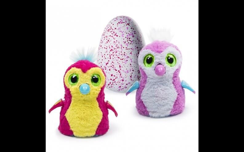 Hatchimals toys.