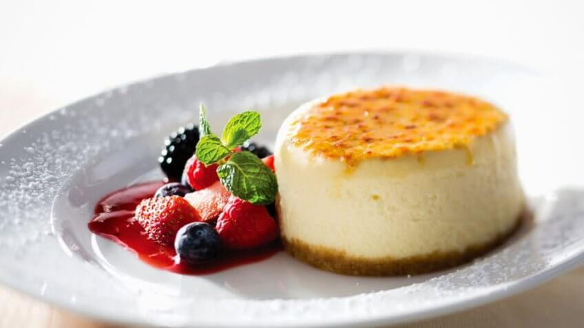 Cheesecake from The Capital Grille