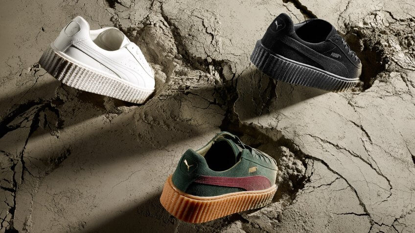 PUMA Women's Creative Director and Brand Ambassador, Rihanna, and Global Sports Brand, PUMA, are excited to announce three brand new styles to the FENTY PUMA by Rihanna Creeper collection releasing this summer.