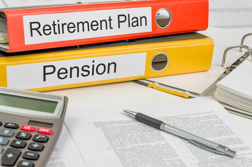 retirement plan and pension plan