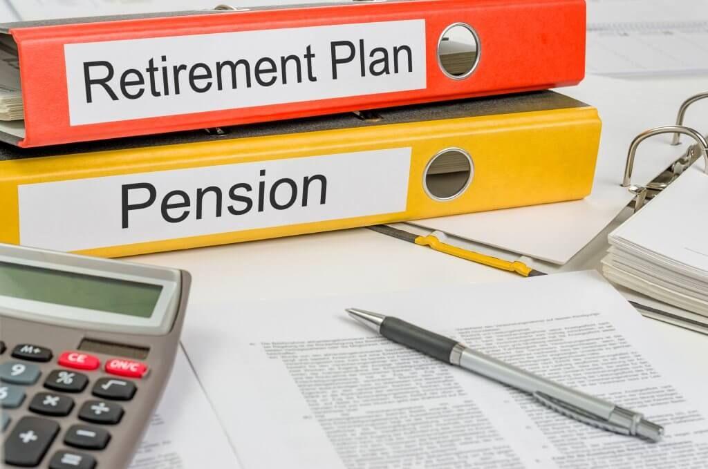 retirement plan and pension plan