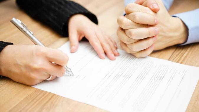 steps to divorce