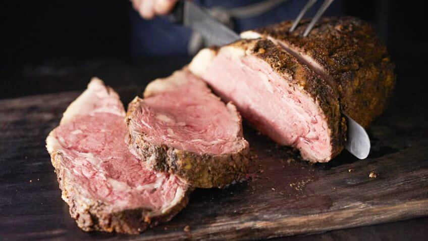 Steak from Black Angus Steakhouse