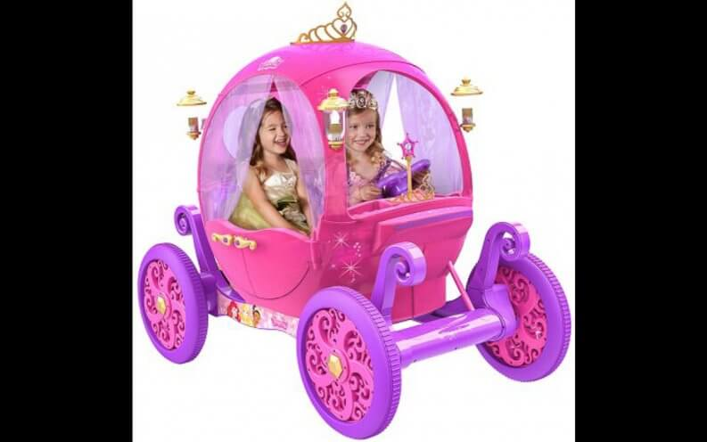 Disney princess carriage.