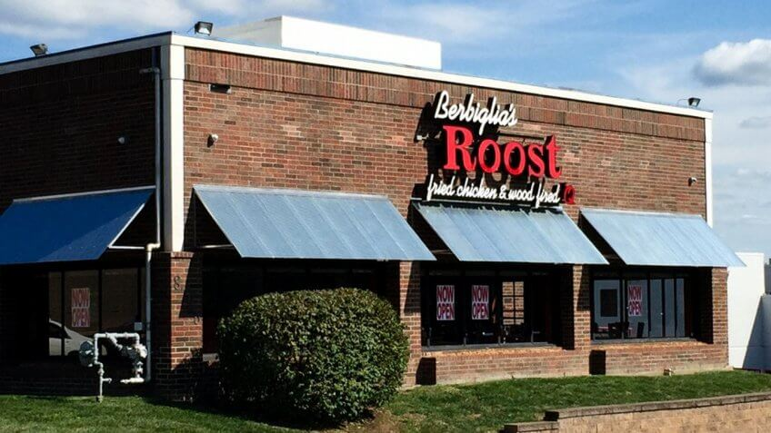 Berbiglia's Roost restaurant