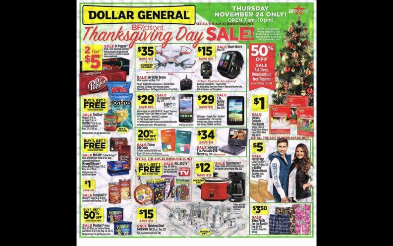 Dollar General Black Friday coupon