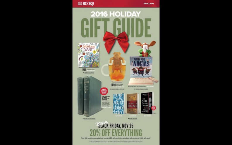 Half Price Books Black Friday coupon