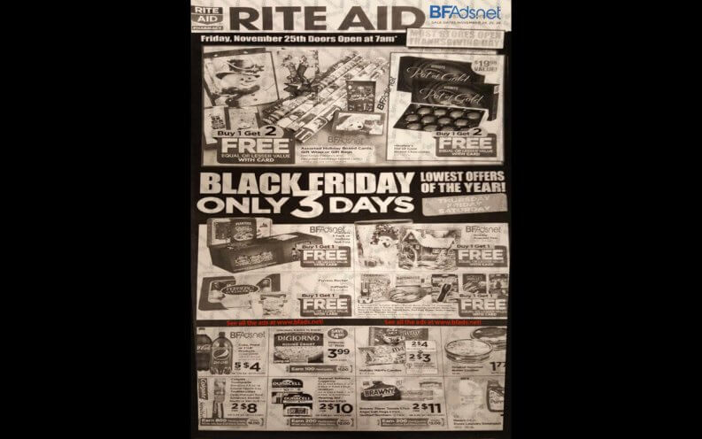 Rite Aid Black Friday coupon