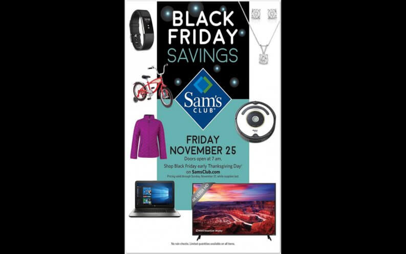 Sam's Club Black Friday coupon