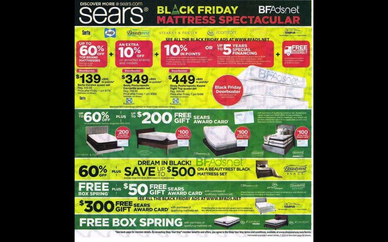 Sears Black Friday coupon