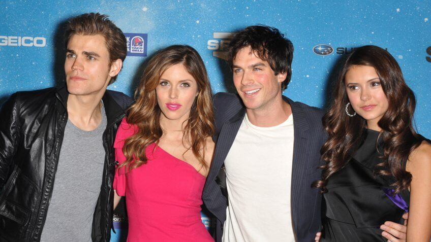 Cast Showdown: Who's the Richest Star of 'The Vampire Diaries'?