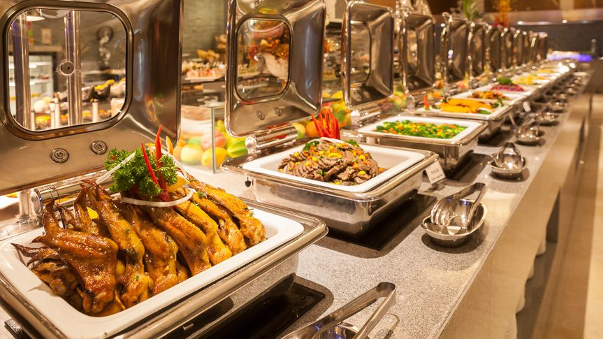 all you can eat buffet spread