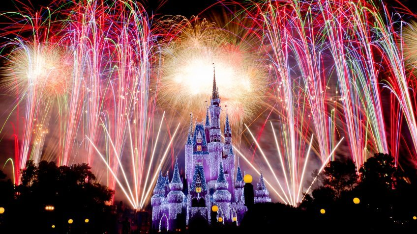Disney World Fantasy in the Sky, Orland-Florida