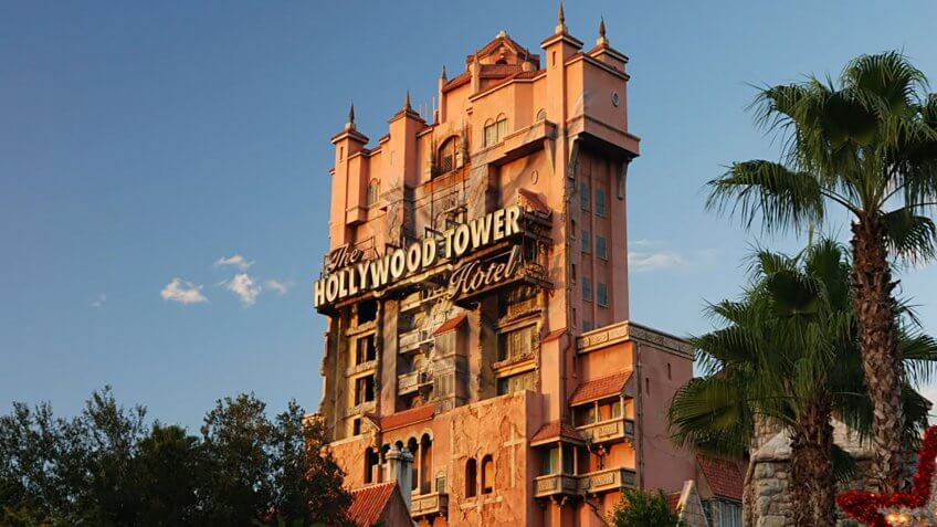Tower of Terror ride - Disney's MGM - Orlando.