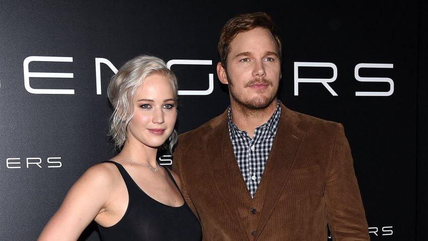 From Jennifer Lawrence to Chris Pratt, See the Out of This World Wealth of the 'Passengers' Movie Cast