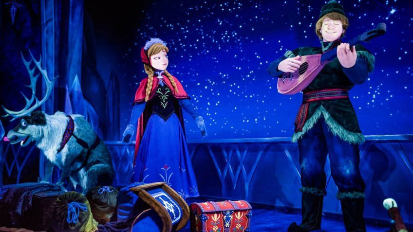 Frozen Ever After at Epcot Center