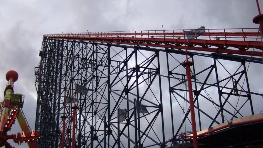 Walk the Big One at Blackpool Pleasure Beach UK
