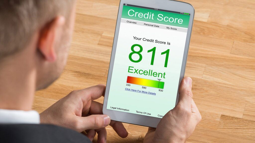 excellent credit score on phone