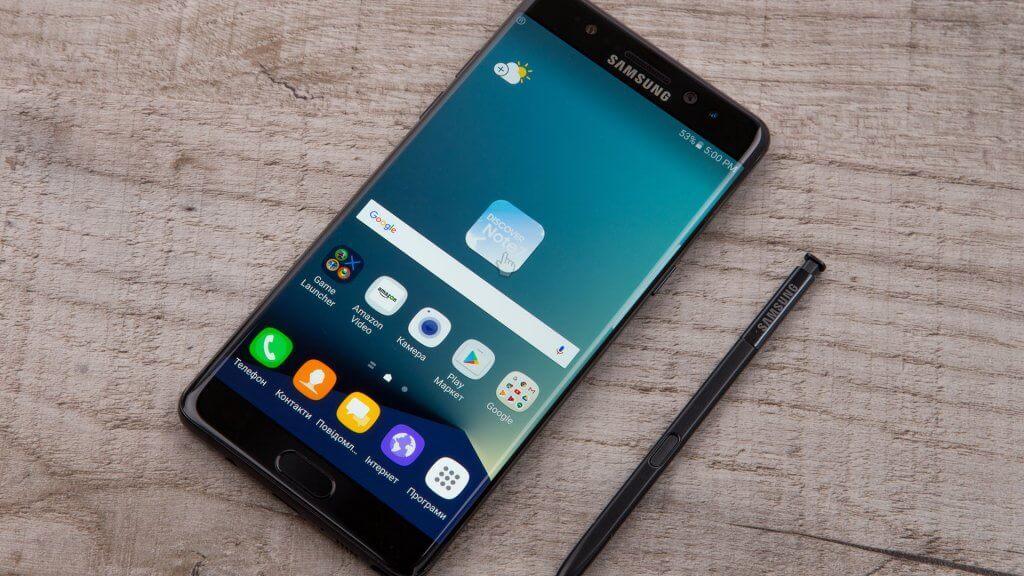 samsung smartphone and stylus