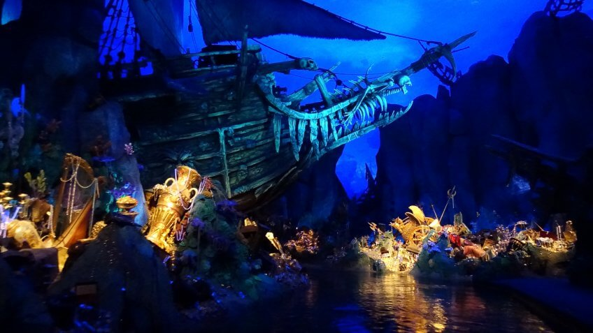 Pirates of the Caribbean Battle for the Sunken Treasure at Shanghai Disneyland
