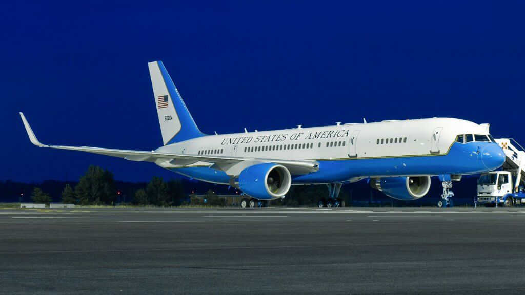 government airplane