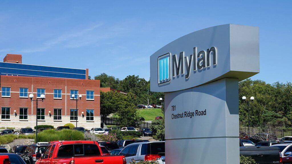 mylan sign
