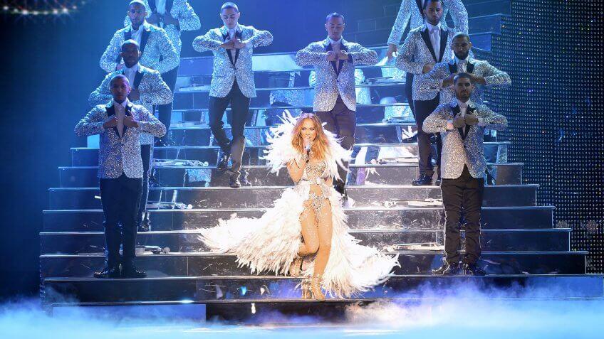 Jennifer LopezJan 18 2016Photos By Denise TruscelloLas Vegas, Nevada.