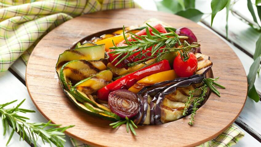 Vegetables as Main Dishes