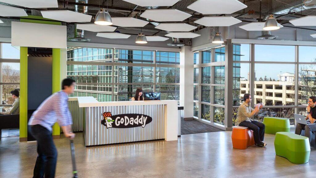 GoDaddy office