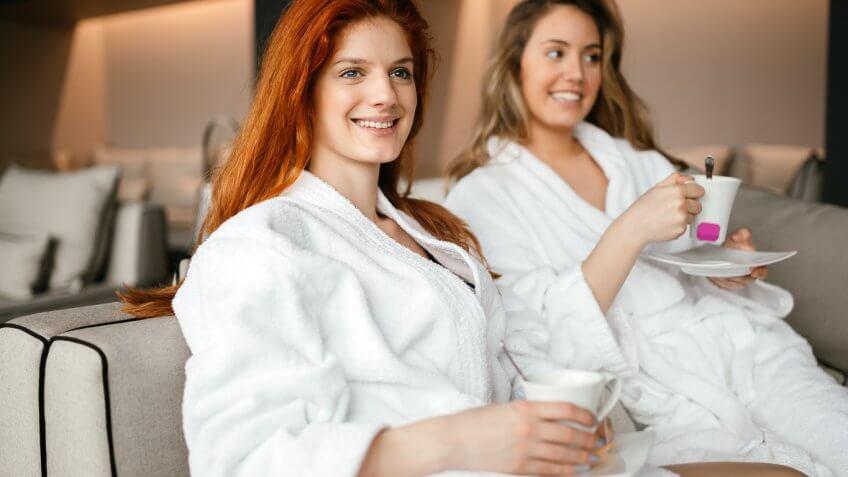 Plush Robe Spa Set