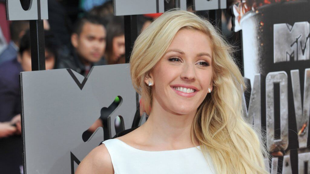 Ellie Goulding at MTV red carpet