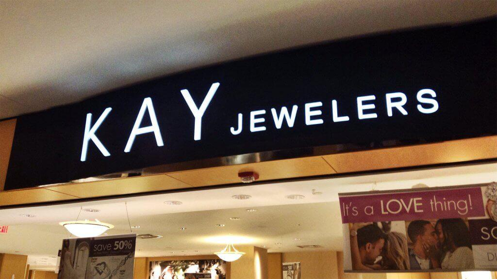 kay jewelers marquee