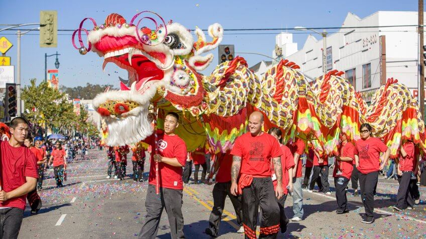 Free Chinese New Year Celebrations Across America