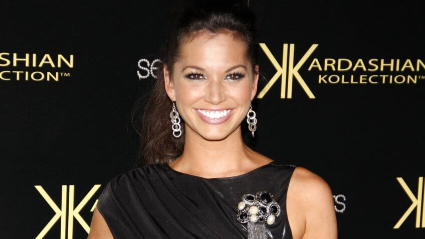Melissa Rycroft at the Kardashian Kollection Launch Party held at the Colony in Hollywood on August 17, 2011.