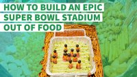 How to Build an Epic Super Bowl Stadium Out of Food