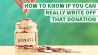 How to Know If You Can Really Write Off That Donation