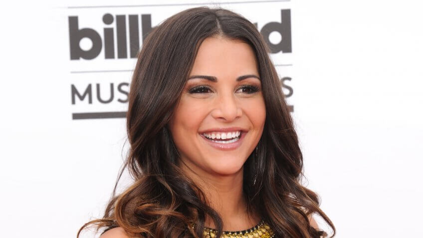 LAS VEGAS - MAY 18: Andi Dorfman arrives to the Billboard Music Awards 2014 on May 18, 2014 in Las Vegas, NV.