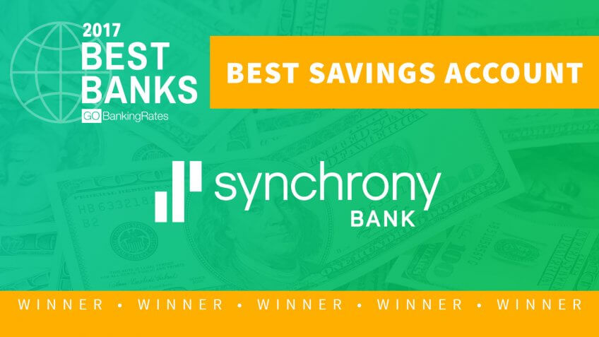 Best Savings Account of 2017: Synchrony Bank