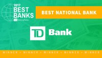 Best National Bank of 2017: TD Bank